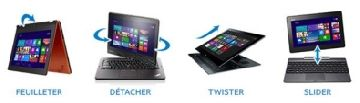 4 utilisations d'un Ultrabook Intel 2in1